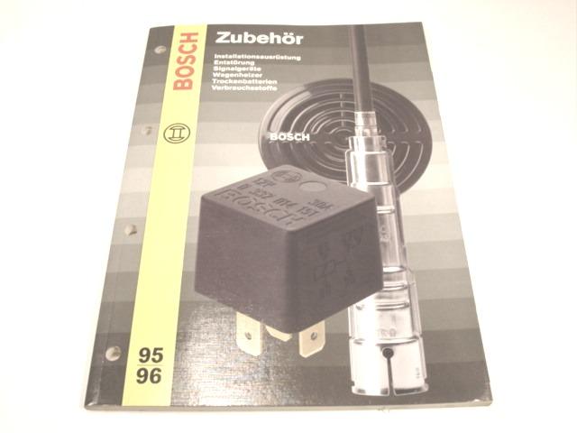 Bosch Ersatzteilkataloge